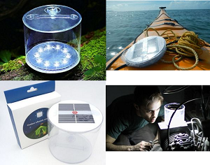 Waterproof Inflatable Solar LED Lamp